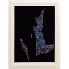 Картина с кристаллами Сваровски Силуэты