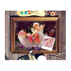 Портрет по фото Маленький ангелочек