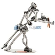 Статуэтка из металла Танцоры танго