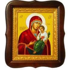 Песчанская икона Божией Матери на холсте.