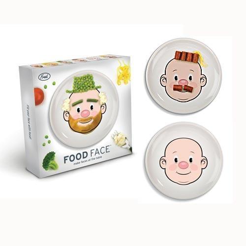 Тарелка раскраска Мистер Food Face