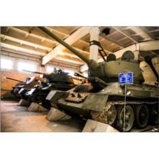 Экскурсия по экспозиции с военной техникой и оружием