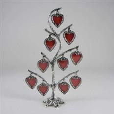 Фоторамка сердечками Семейное дерево