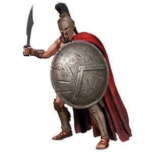 Царь Леонид «300», фигурка
