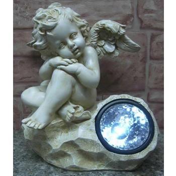 Фонарик солнечный Ангел мечтает