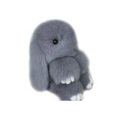 Меховой брелок Кролик Базик