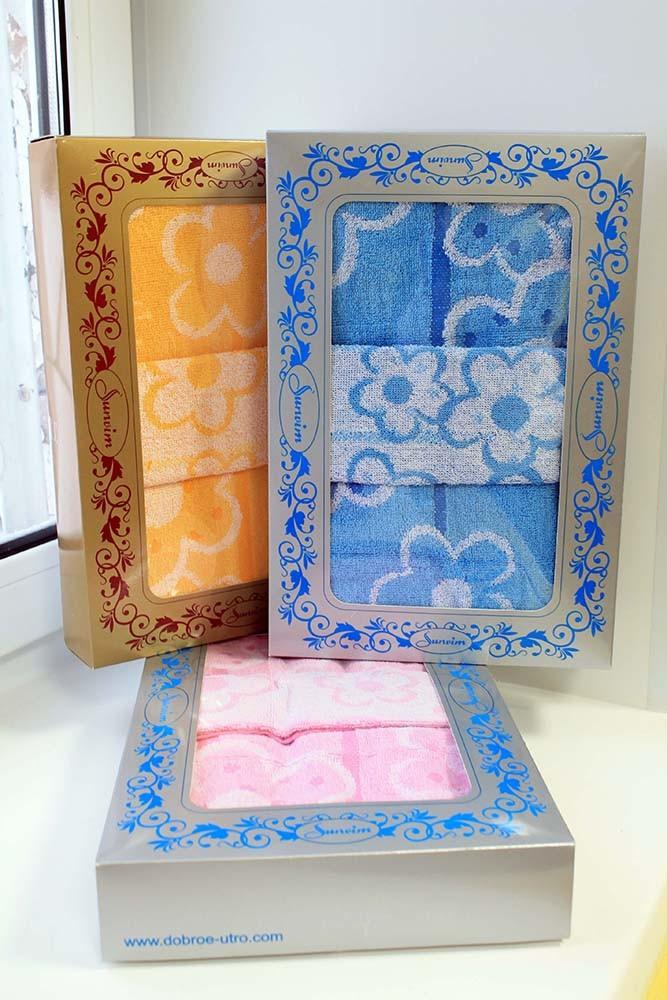 Подарочный набор полотенец Фантазия