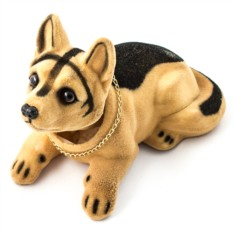 Фигурка Собака качающая головой. Овчарка