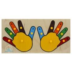 Рамки-вкладыши «Руки»