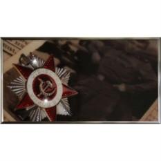 Картина Swarovski Орден Отечественной Войны 1 степени