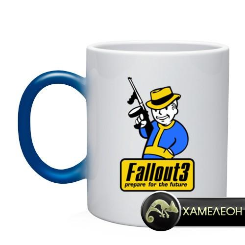 Кружка-хамелеон Fallout Man