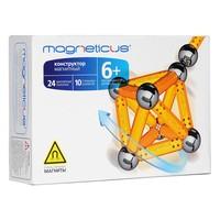 Конструктор магнитный Magneticus 34 элемента, цвет желтый