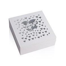 Деревянная шкатулка «Сердце»