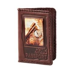 Обложка для паспорта с художественной вставкой с фотопечатью