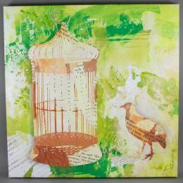 Арт-картина «Коллаж зеленый»