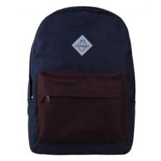 Синий с бордовым городской рюкзак Сердце