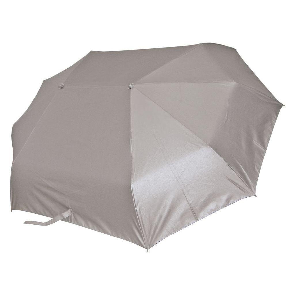 Зонт для двоих серебристого цвета
