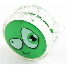 Волчок на шнуре YO-YO Смайл зеленого цвета