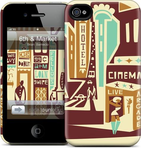Чехол для iPhone 4/4S Gelaskins 6th & Market