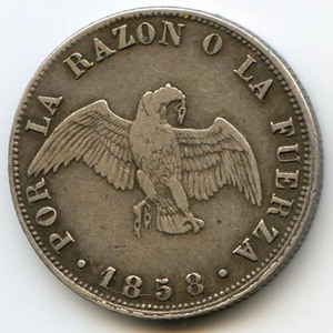 Монета «Чили 20 центаво»