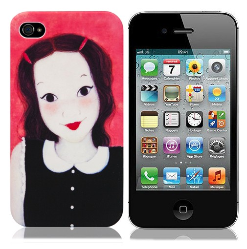 Чехол для iPhone 4/4S Dear Babe