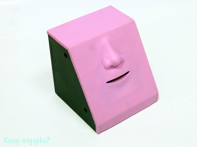 Интерактивная копилка «Обжора», нос, розовый