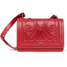 Красная женская сумочка «Ар-нуво»