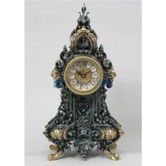 Каминные часы из бронзы Гойо