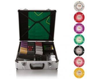 Набор для покера и блэк-джека All-in Tournament 600