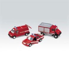 Игровой набор машин Welly Пожарная служба