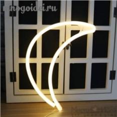 Настенный светодиодный декоративный ночник Неоновая луна