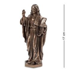 Фигурка Иисус с Ветхим Заветом , высота 17 см