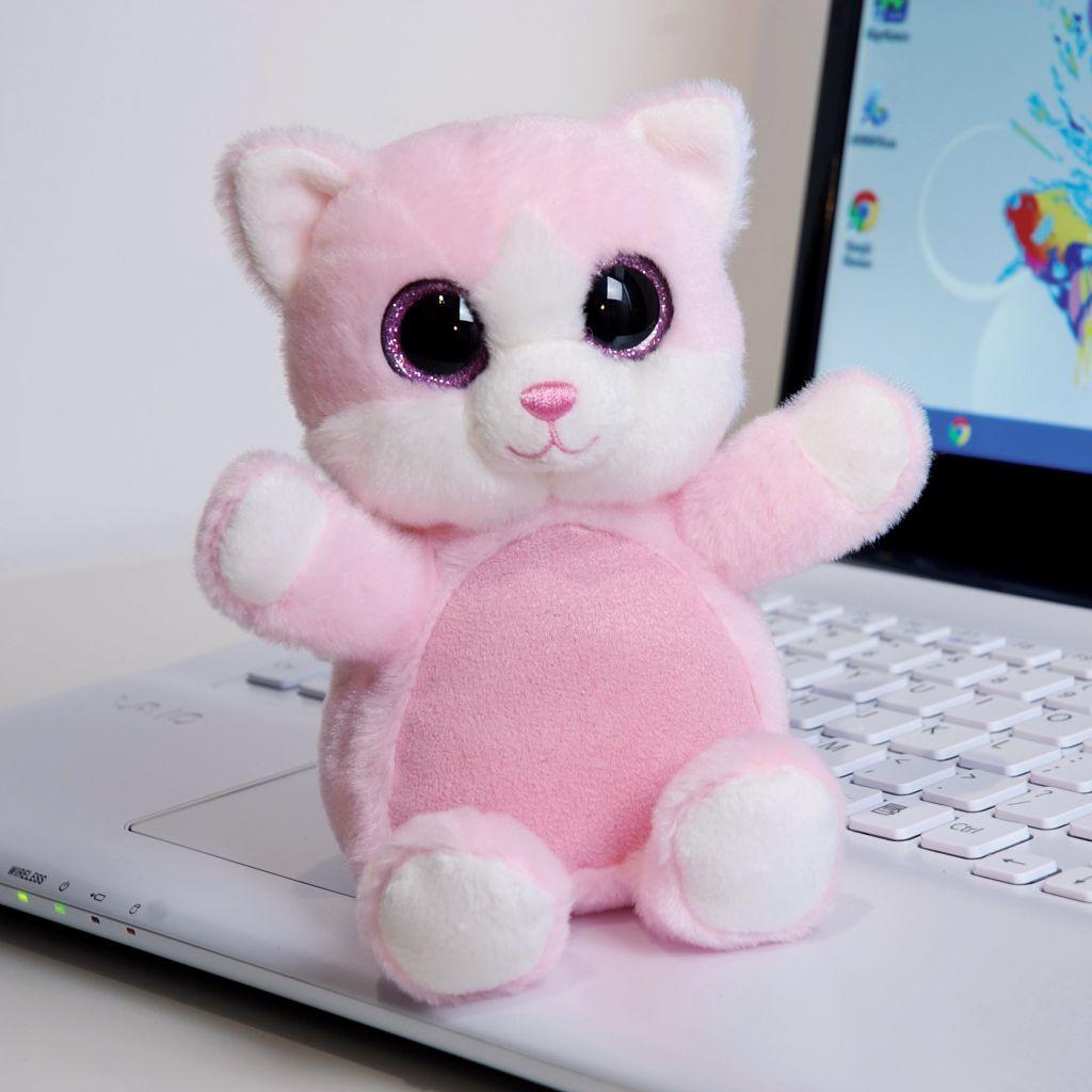 Протиратель экрана Sparkly Eyes Кошка