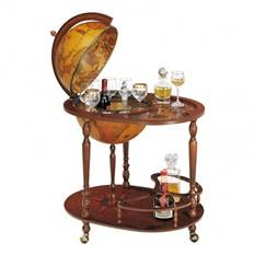 Глобус-бар Zoffoli со столиком на 3 ножках