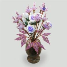 Цветы из агата На счастье