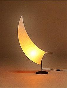 Настольный светильник из рисовой бумаги