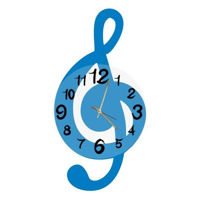 Часы Мелодия, синие