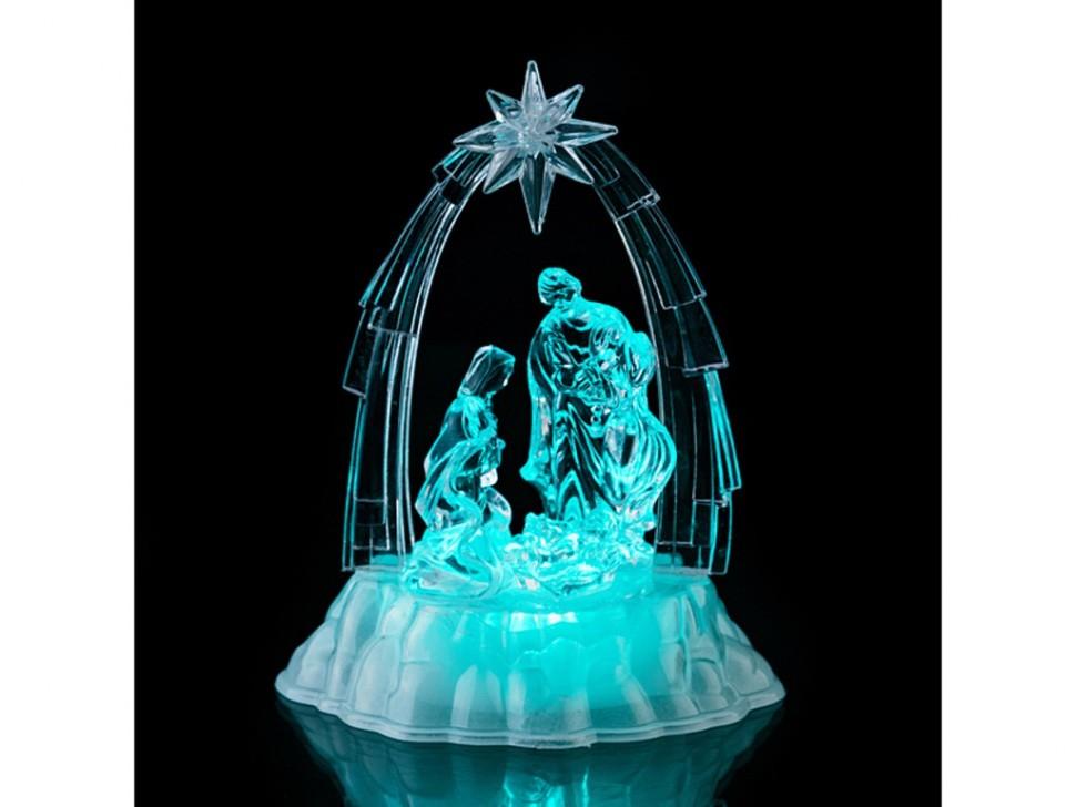 Фигурка с подсветкой Святое семейство