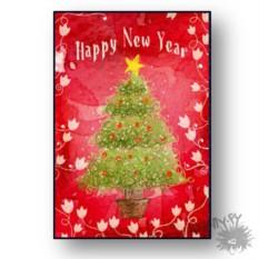 Открытка Happy New Year