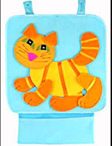 Котик — аппликация для коврика-конструктора
