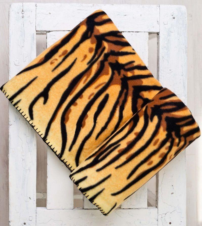 Плед Тигровый (флис)