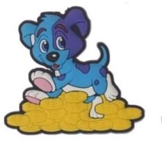 Магнит Шаловливый щенок