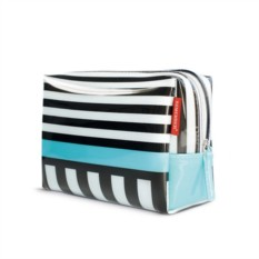 Большая косметичка Black stripes