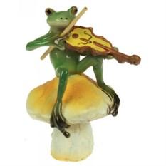Декоративная фигурка Лягушонок со скрипкой