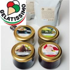 Набор ингредиентов для домашнего мороженого Gelatissimo