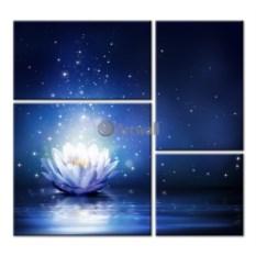 Модульная картина «Волшебный цветок» 80×74 см