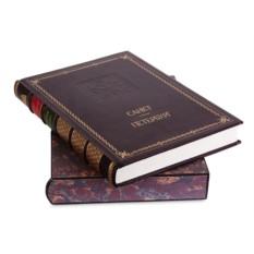 Книга Санкт-Петербург. История города (в мраморном футляре)