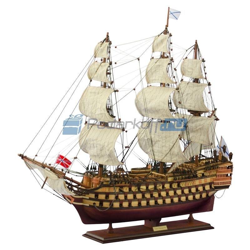 Модель корабля Трех Иерархов 1783 г. 94 см