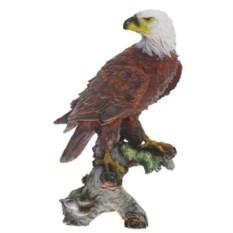 Декоративная садовая фигура Орел на коряге