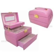 Шкатулка для ювелирных украшений украшений Valise Pink